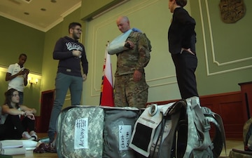Dagger Brigade Soldiers bring first aid training to Zary