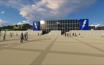 Rendering of future Falcon Stadium