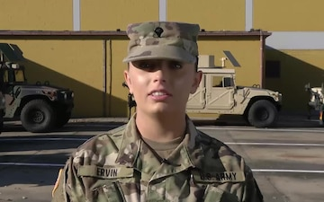 Spc. Kayla Ervin - 2017 Army vs Navy Shout Out