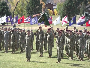 Colorado Army National Guard Adjutant General Change of Command