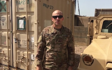 Veterans Day Greetings from 1st Lt. Sean Donahue at Contingency Location Garoua, Cameroon