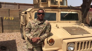 Veterans Day Greetings from Spc. Chris Dudley at Contingency Location Garoua, Cameroon