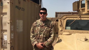 Veterans Day Greetings from Sgt. Anthony McLain at Contingency Location Garoua, Cameroon