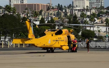 Coast Guard rescues boater 12 miles west of San Onofre