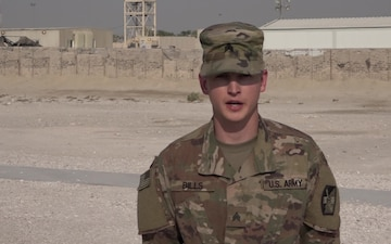 Sgt. Benjamin Bills' Shout Out for Veteran's Day