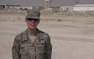 "Senior Airman Tasha Brady's Veteran's Day ""Shout Out"""