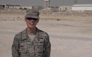 "Senior Airman Tasha Brady's Veteran's Day ""Shout Out"""