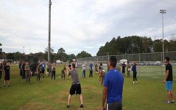 H&HS vs. MWHS-2 field meet