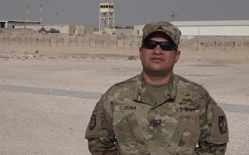 "Sgt Ivan Corona's Veteran's Day ""Shout Out"""