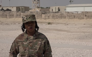 "Senior Master Sgt. Nichole Dixon's Veteran's Day ""Shout Out"""