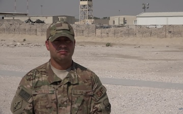 """Master Sgt, John Robledo's Veteran's Day """"Shout Out"""""""