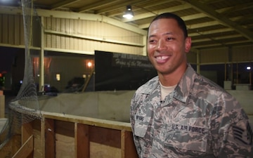 Street Hockey Game and Interview of Staff Sgt. Silas Watkins