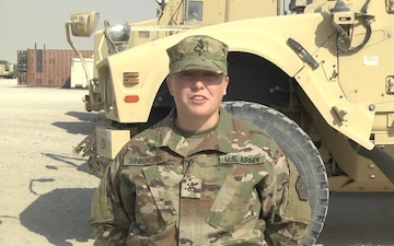 PFC Mallory Sinkhorn - Holiday Greeting