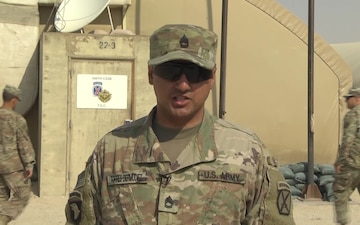 Sgt. First Class Carlos Torres - Holiday Greeting