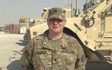 Spc. Matthew Drane - Holiday Greeting