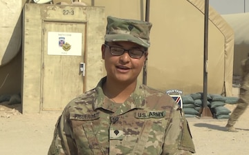 Spc. Laura Figueroa - Holiday Greeting