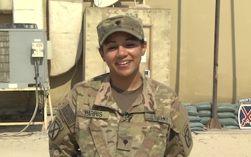 Spc. Nadah Harris - Holiday Season