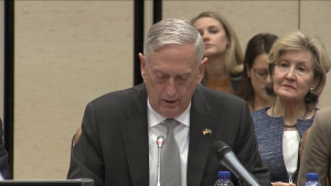Mattis, Coalition Counterparts Meet in Brussels