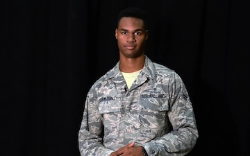Airman 1st Class Jair Semexant Shoutout to University of Florida Gators