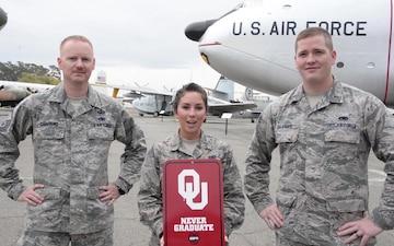 Shoutout: Lt Johnson, Lt Belanger, MSgt Swafford- Oklahoma Uni