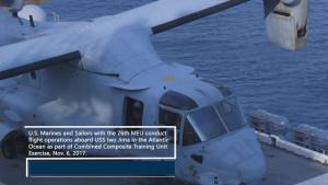 26th MEU conducts Flight Operations aboard USS Iwo Jima