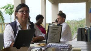 Hurricane Maria: Julie Fonseca de Borges