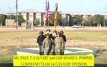 1st Cavalry Division Shoutout to West POint Football Team