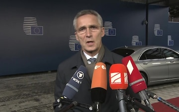 NATO Secretary General participates in the European Union Foreign Affairs Council in Defence Format