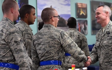 Lt. Gen. Roberson highlights the importance of taking care of Airmen
