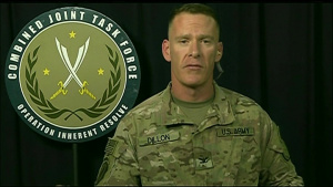 Operation Inherent Resolve Spokesman Briefs Reporters