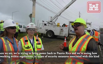 USACE & PREPA work together, ensuring common safety practices in Puerto Rico power restoration effort