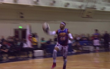 All Hands Update: Globetrotters Visit Yokota