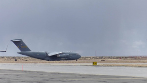The 389th Fighter Squadron Conducts Tactical Training with the 14th Airlift Squadron