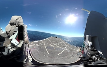 HIMARS Sea-Based Expeditionary Fires (S-BEF) - 360 degree view