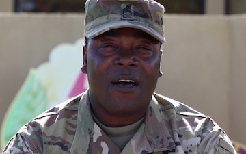 Master Sgt. Andre Washington