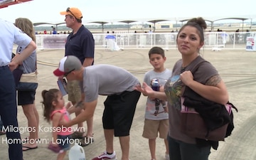 Kassebawn family at the JBSA Airshow and Open House