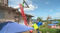 Hurricane Maria: 10K Blue Roof Install