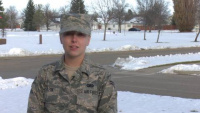 Airman 1st Class Alexandria Gilpin Holiday Greeting