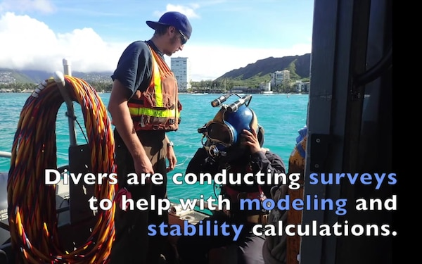 Pacific Paradise wreck removal operations recap
