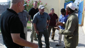 Outreach in Tadjoura is a combined effort between Religious and Civil Affairs