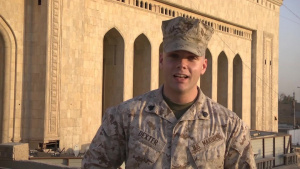 Marine Sergeant Jacob Dexter holiday shout out