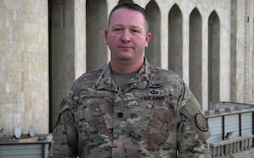 Army Lieutenant Colonel Scott Hequembourg holiday shout out