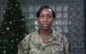 Laniya Allen - Holiday Greetings from Bahrain