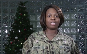 Darnisha Smith- Holiday Greetings from Bahrain