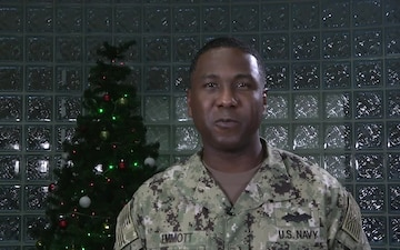 Jermaine Jemmott- Holiday Greetings from Bahrain