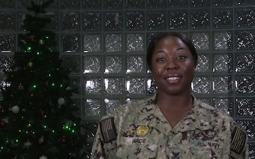 Brittany Wade- Holiday Greetings from Bahrain