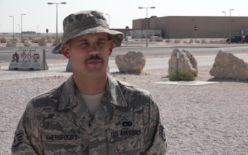 "Staff Sgt. Anthony Amersfoort's Thanksgiving ""Shout Out"""