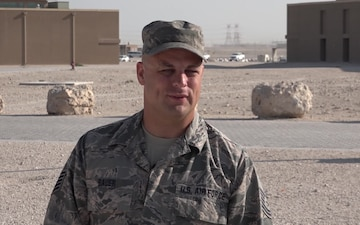 Tech. Sgt. Richard Bauer's Thanksgiving Shout Out