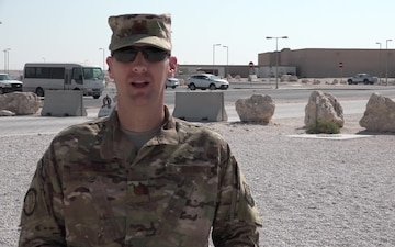 "Major Jason Chisolm's Thanksgiving ""Shout Out"""
