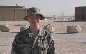 "Staff Sgt. Patrick Evenson's Thanksgiving ""Shout Out"""
